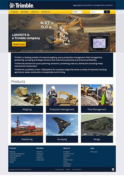 Trimble-Aggregates